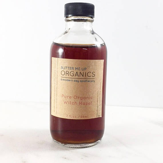 Organic Witch Hazel / Organic Facial Toner / - Bohemian Moon Boutique