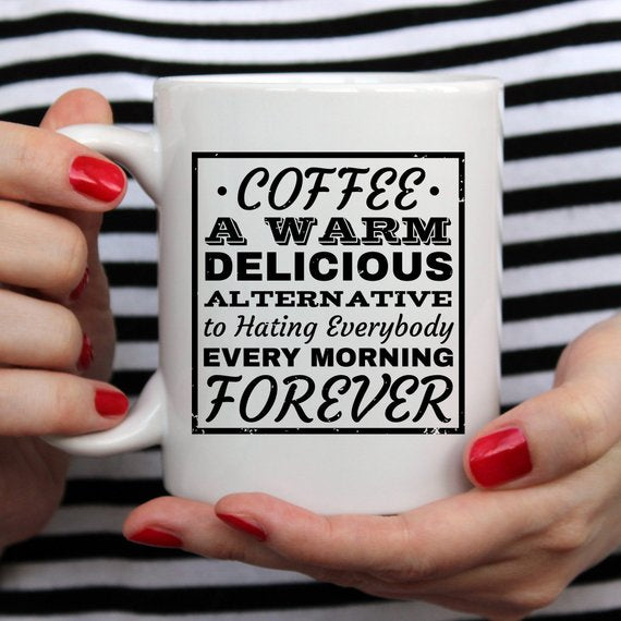 Funny Coffee Mug, Unique Coffee Mug, Ceramic - Bohemian Moon Boutique