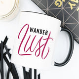 "The ""Wanderlust"" Coffee Mug, Wanderlust, Adventure"