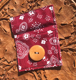 Handmade Boho Card Wallet - Bohemian Moon Boutique