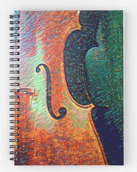 Artisan Journal Spiral Notebook - Bohemian Moon Boutique