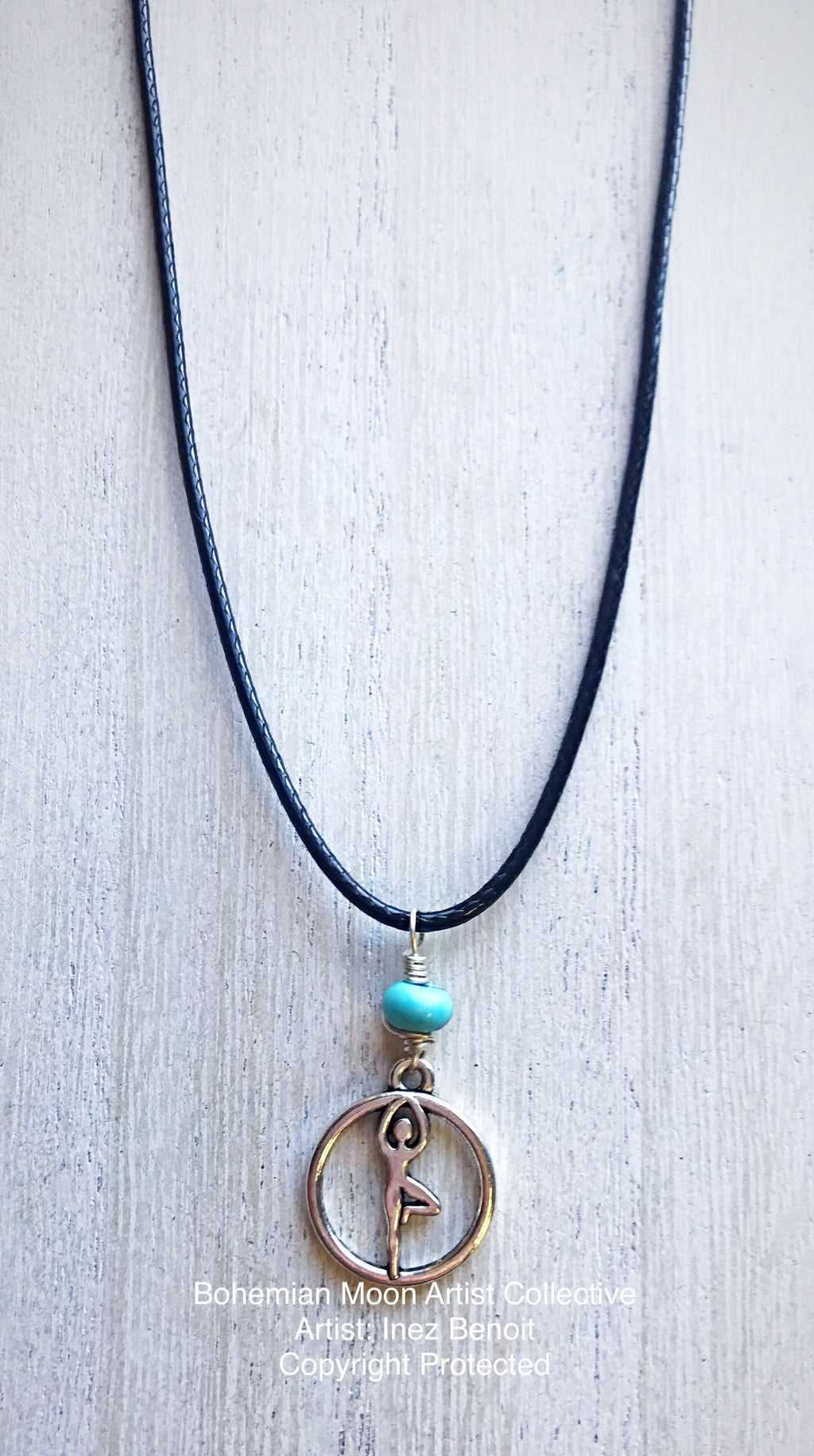 Tree Pose Necklace - Bohemian Moon Boutique