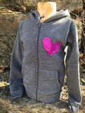 Creative Inspiration Upcycle Childrens Hoodie - Bohemian Moon Boutique