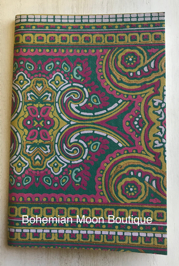 Boho Gypsy Wanderlust Travel Journal - Bohemian Moon Boutique