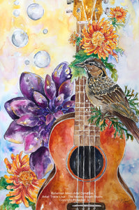 Art Print - The Lark's Song - Bohemian Moon Boutique