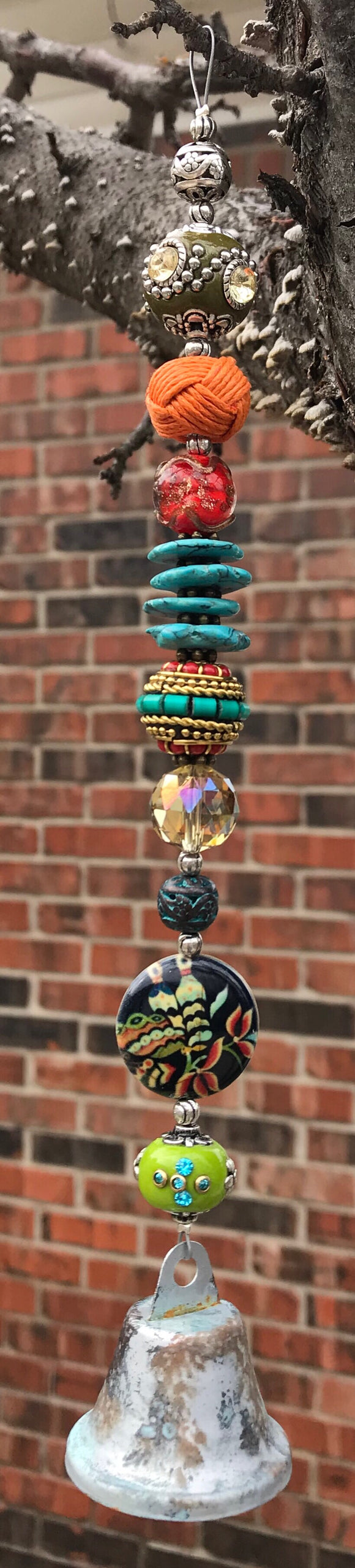 Gypsy Bell Bohemian Home Wind Chime - Bohemian Moon Boutique