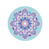 Round Meditation Pad Yoga Mat Cushion - Bohemian Moon Boutique