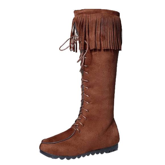 Lace Up Gypsy Festival Boots - Bohemian Moon Boutique