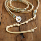 Bohemian Leather Wrap Bracelet - Bohemian Moon Boutique