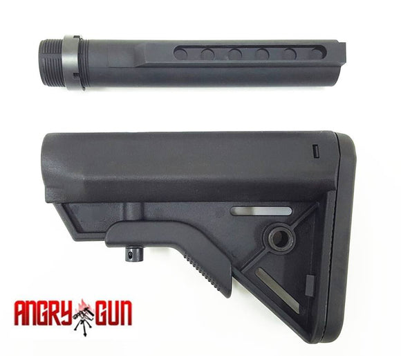 M4 SOPMOD Stock with CNC 6 Pos buffer tube