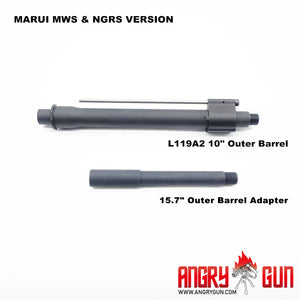 L119A2 OUTER BARREL SET