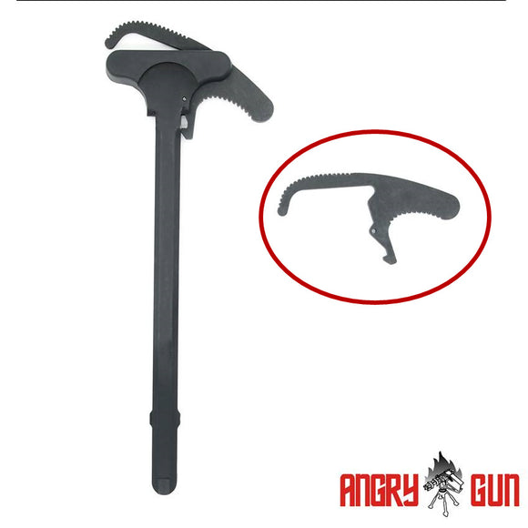 ANGRY GUN L119A2 Charging handle's latch