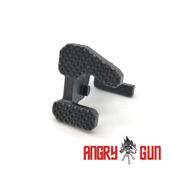 ANGRY GUN STEEL CNC BOLT STOP FOR MARUI MWS GBB - MARITIME VERSION