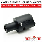 ANGRY GUN CNC HOP UP CHAMBER FOR WE M4/MSK GBB - GEN 2 VERSION