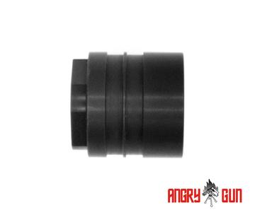 ANGRY GUN L119A2 RAIL SYSTEM BARREL NUT FOR AEG