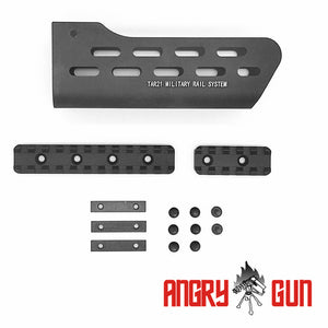 AngryGun_T21 Rail System for AEG