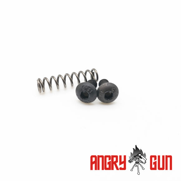 Screw & Spring Set for MWS Bolt Carrier Group
