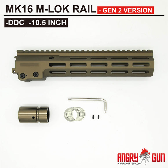 MK16 M-LOK RAIL 10.5 INCH - GEN 2 VERSION