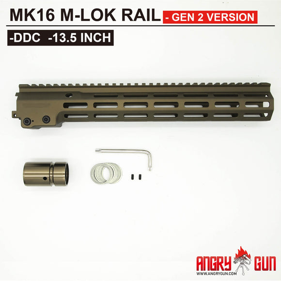 MK16 M-LOK RAIL 13.5 INCH - GEN 2 VERSION