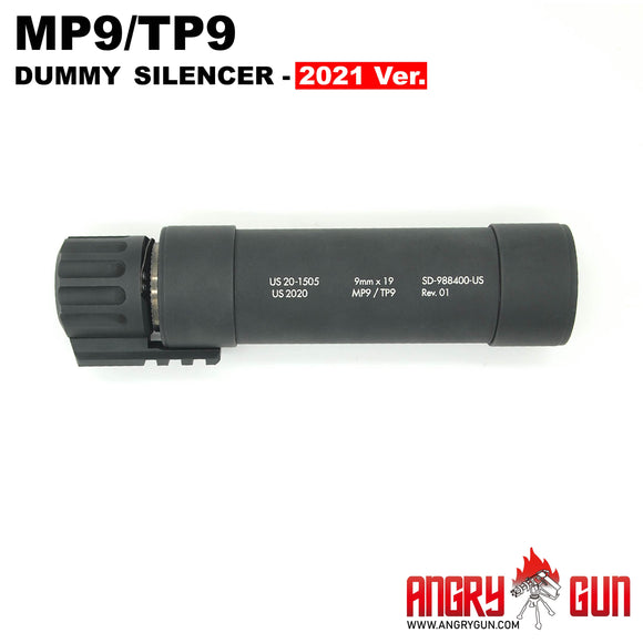 ANGRY GUN MP9/TP9 DUMMY SUPPRESSOR - 2021 VERSION