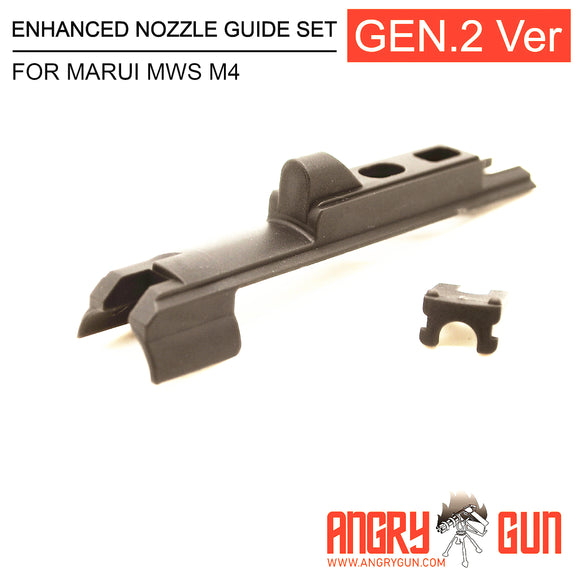 Angry Gun Enhanced Nozzle Guide Set Gen 2 Version for Marui MWS M4
