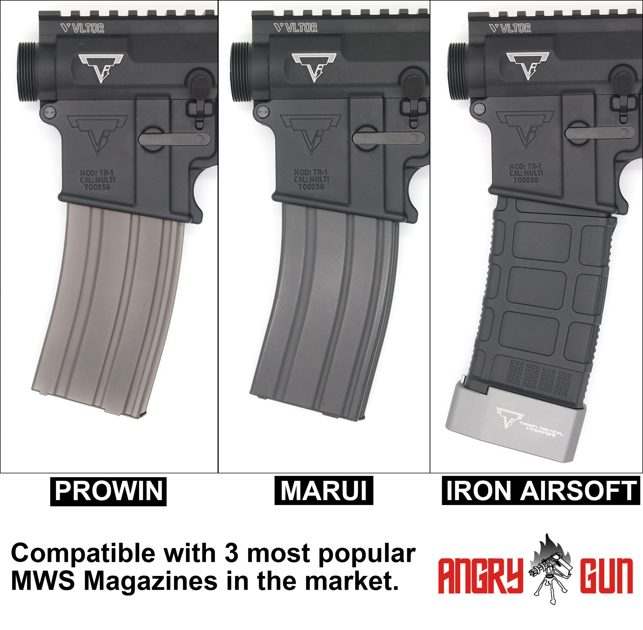 ANGRYGUN JOHN WICK RIFLE CNC CONVERSION KIT FOR MARUI M4 MWS GBB