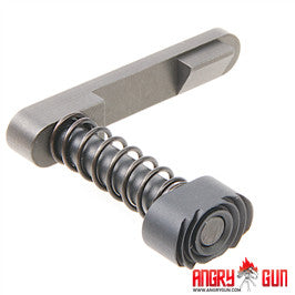 Angry Gun CNC Steel Magazine Release for Marui M4 MWS GBB - Standard Ver.
