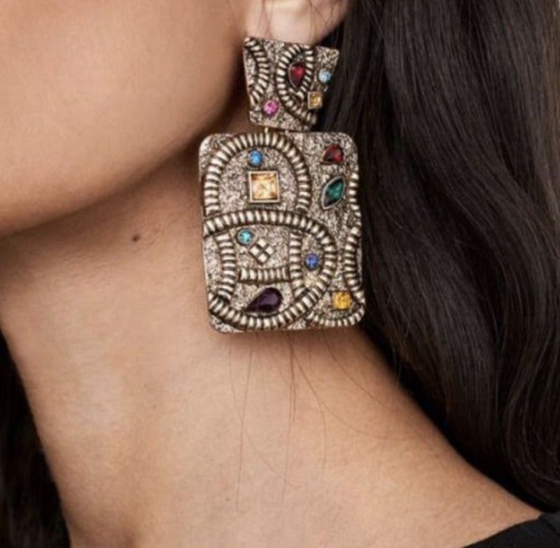 Cultured Abstract Earrings - Bonafide Glam