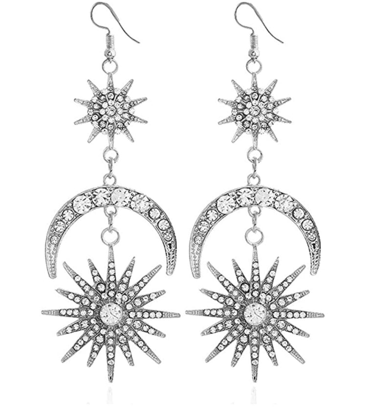 Solarize Me Statement Earrings - Bonafide Glam