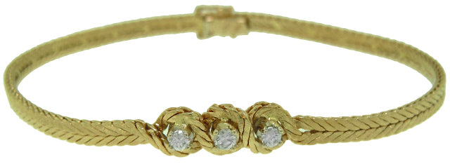 18KT YELLOW GOLD 7