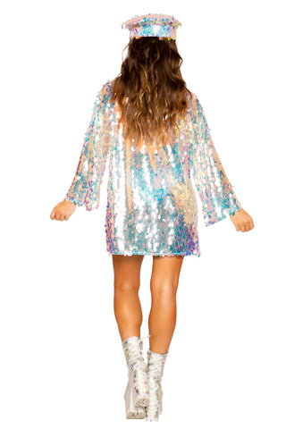 Tear Drop Sequin Jacket