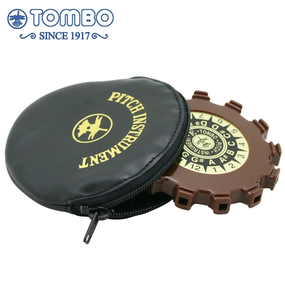 Tombo Chromatic Pitch Pipe 13 Holes Pitch Instruments Tuner Tuning Musical Instruments Tombo P-13A P-13E Key of A E Brass Reeds