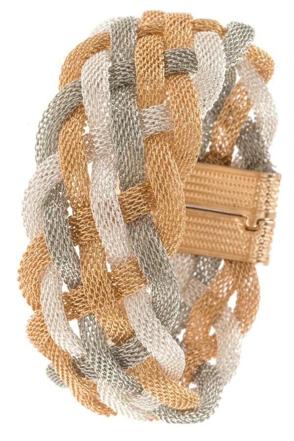 Braided mesh bracelet - StyleLure