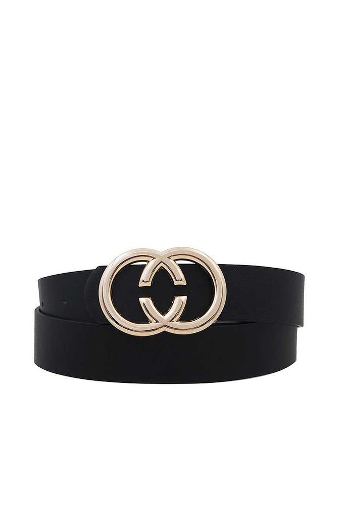 Fashion Double Ring Buckle Belt - StyleLure