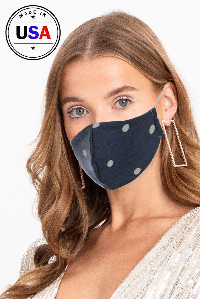 Made In Usa Fashionable 3d Reusable Face Mask - StyleLure