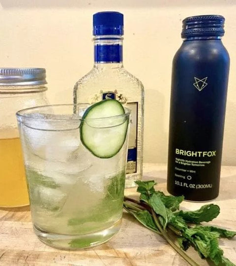 Booze World News: BrightFox Hydration Beverages Perfect Summer Cocktail