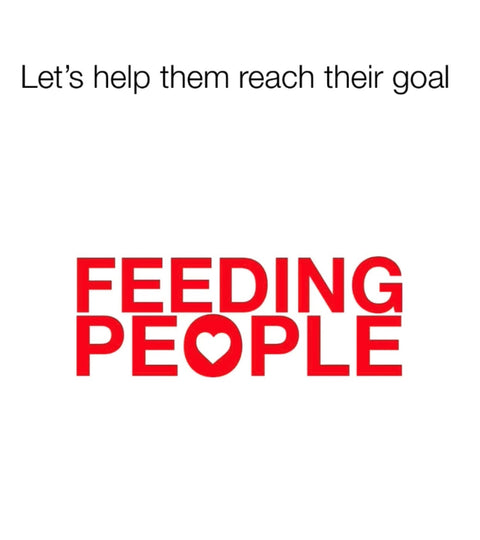 Feeding People. Let's help them reach their goal.