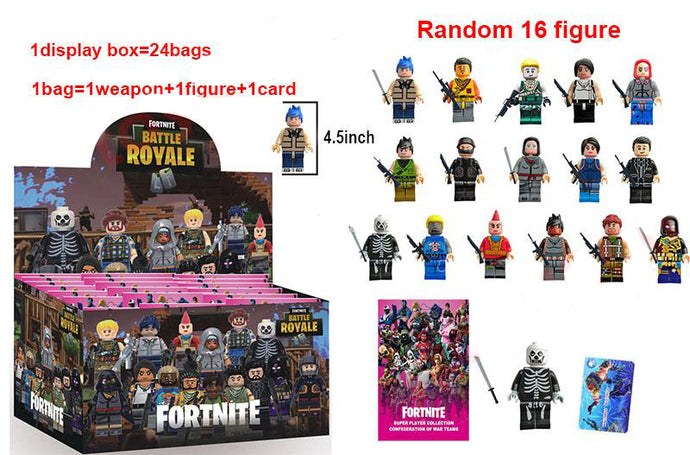 Fortnite Squad Mode 24 Figure Pack