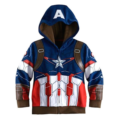 Avengers Super Hero Kids Hoodies