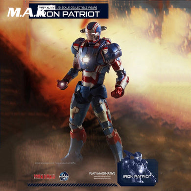 1:12 Iron Man Steel Patriot Figure