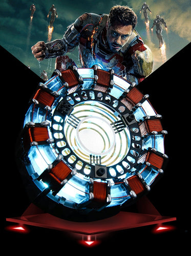1:1 scale Iron Man Arc Reactor with LED Light
