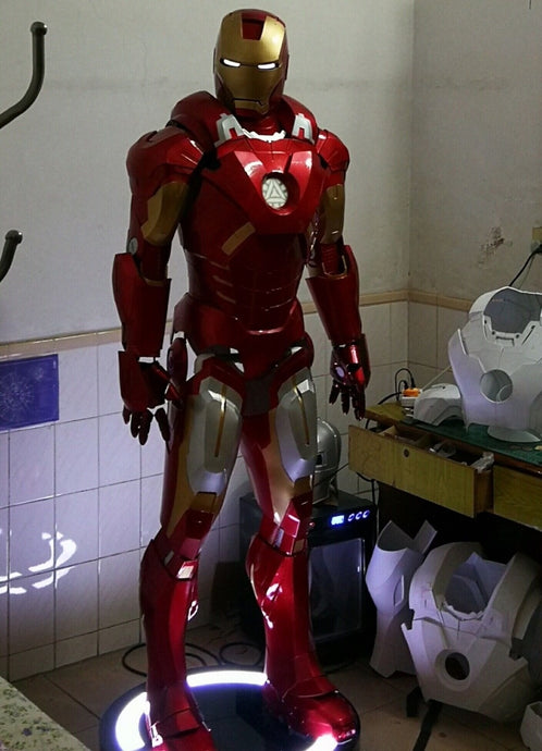 Iron man MK ultimate armor COSPLAY props suit COS real armour