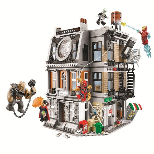 10840 Marvel Avengers Infinity War Sanctum Sanctorum Showdown Iron 1044pcs