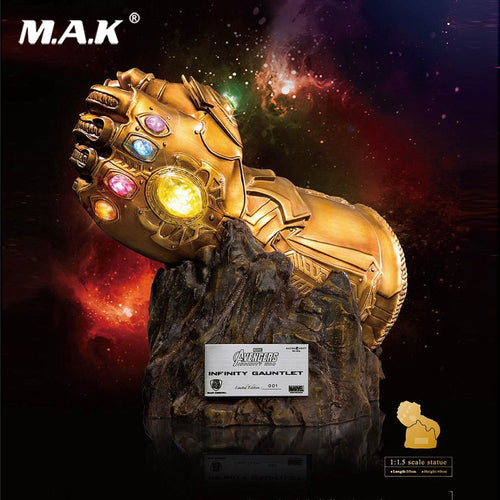 1/1.5 Beast Kingdom MC-004 Avengers Infinity War Thanos Infinity Gloves