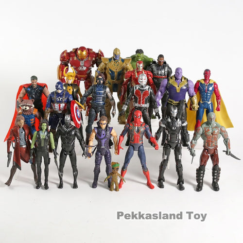 21pcs/set Avengers Action Figures