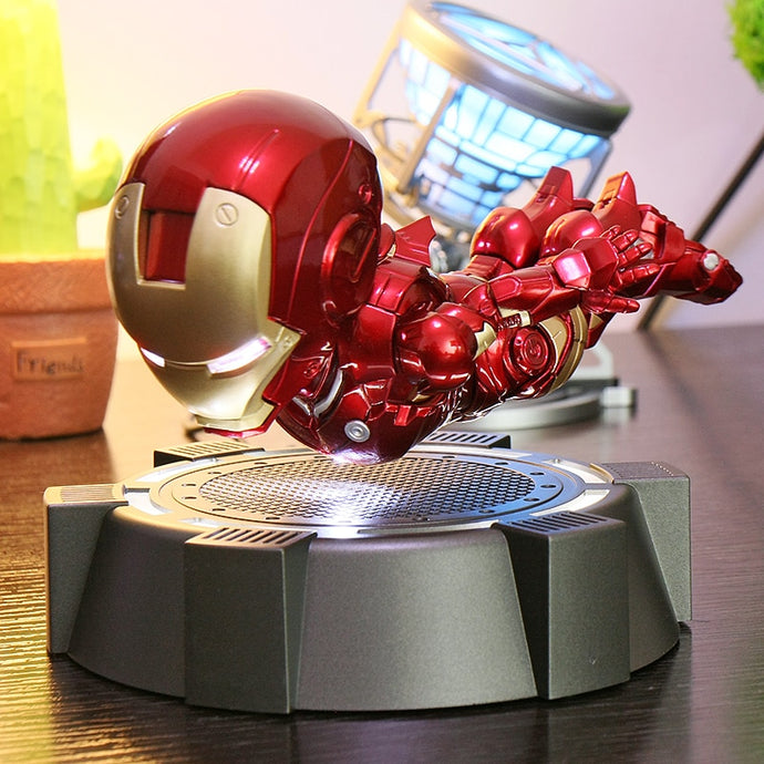 Floating Iron Man Rotating Flying Action Figures