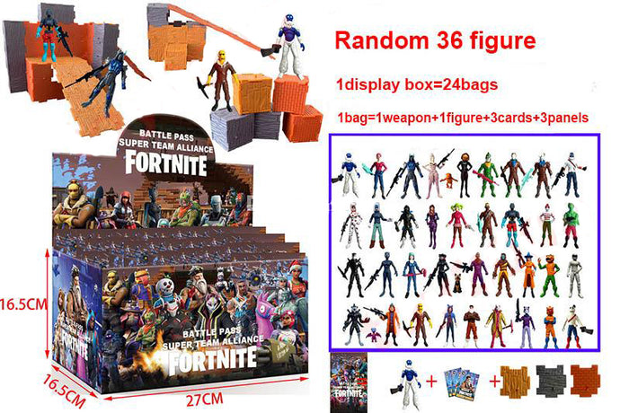 Fortnite Squad Mode 36 Figure Pack