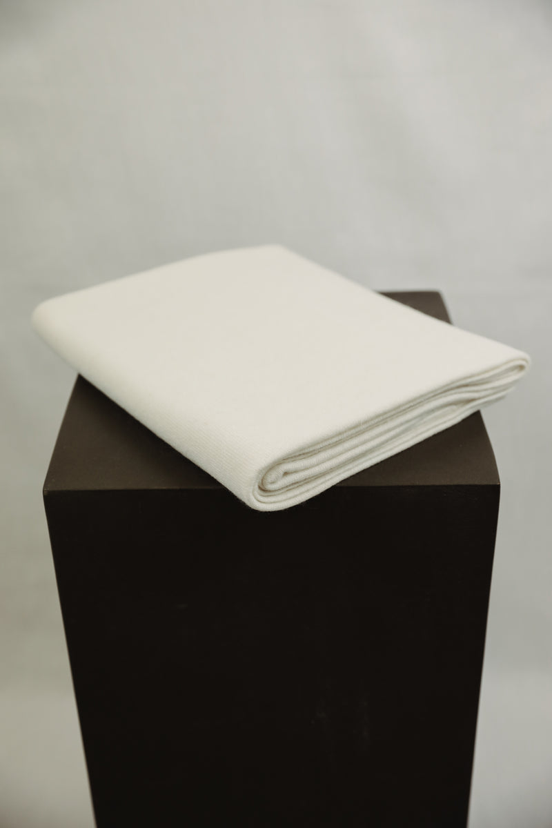 Cashmere Nursery Blanket - Cream
