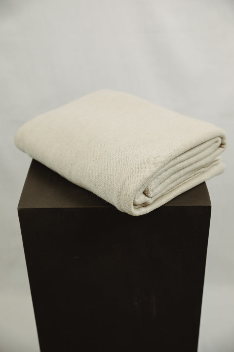 Cashmere Blanket - Nude