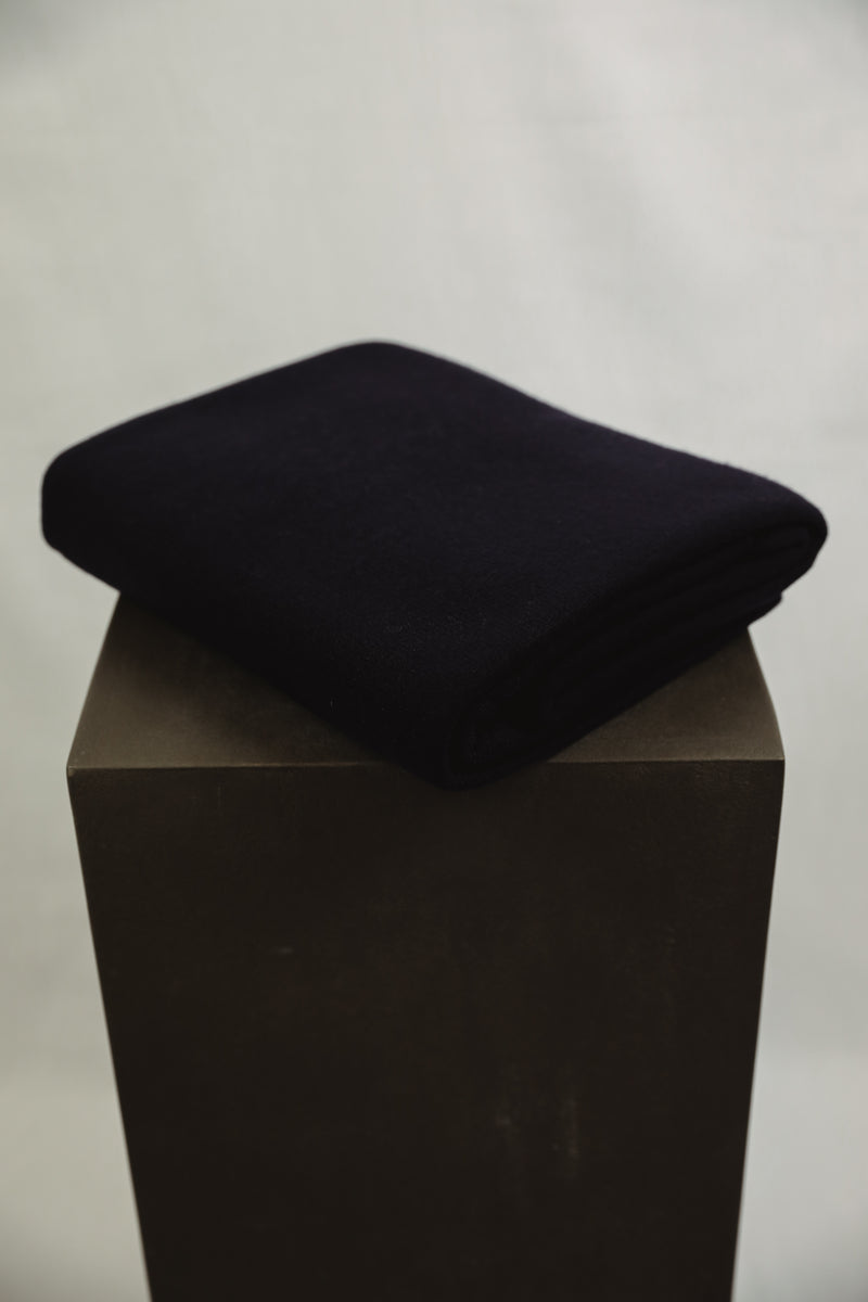 Cashmere Blanket - Dark Navy